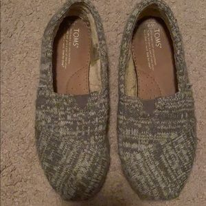 Toms Shoes - GRAY PATTERN TOMS